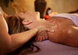 Woman getting a therapeutic Massage - Doctor Mosaraf Ali