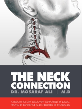 The Neck Connection Book Cover - Doctor Mosaraf Ali