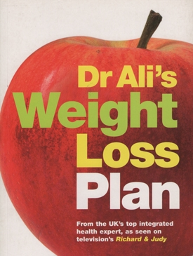 Dr Ali&#039;s Weight Loss Plan Book Cover - Doctor Mosaraf Ali