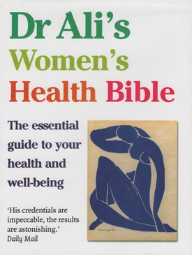 Dr Ali's Women's Health Bible Book Cover - Doctor Mosaraf Ali