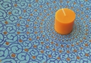 A typical scented candle used in Aromatherapy - Doctor Mosaraf Ali