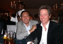 Doctor Ali with Hugh Grant at a Gala Dinner - Doctor Mosaraf Ali