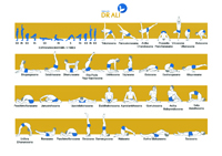 Illustrated Hatha Yoga Exercises